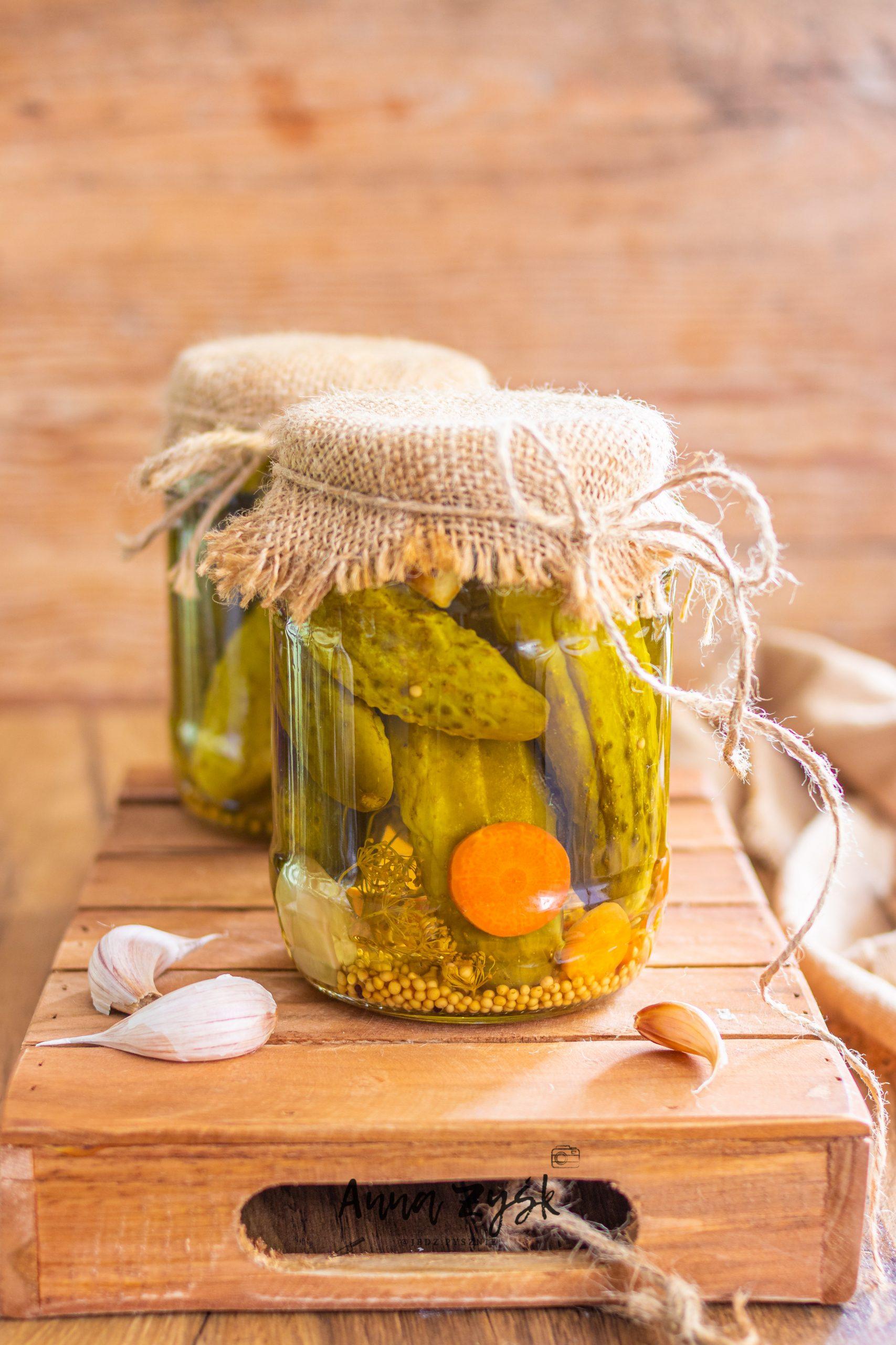 Korniszony, ogórki konserwowe